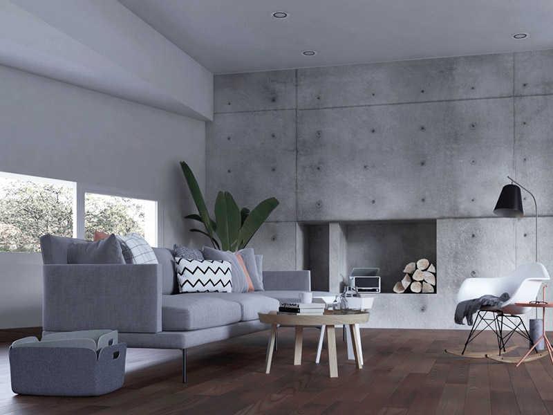Tạo nên không gian độc đáo với sơn bê tông